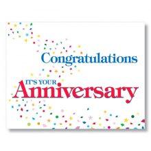 work anniversary logo